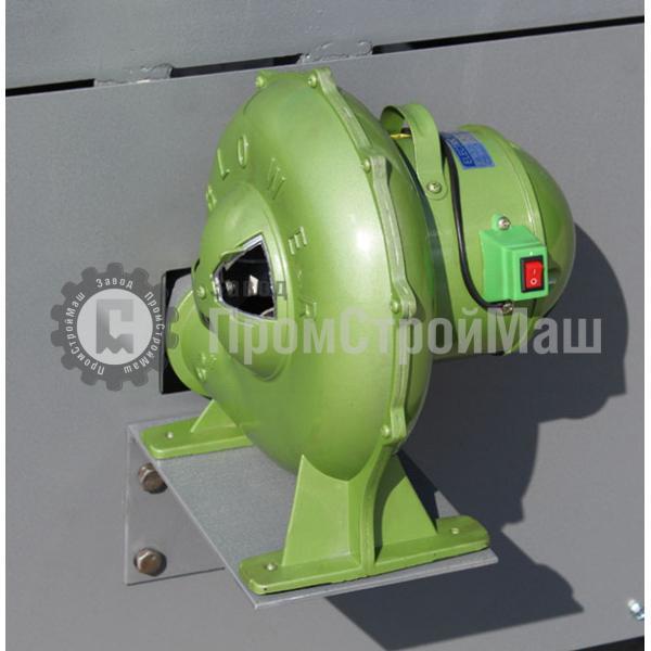 Горн кузнечный модели ГК-923МП. Дутьевая система