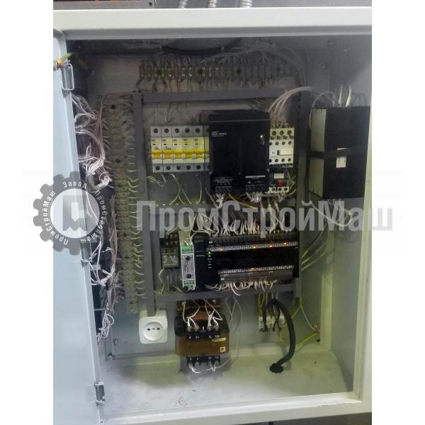 Пресс гидравлический одностоечный модели П6320. Электрошкаф