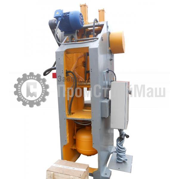Пресс механический однокривошипный модели КД2126Г. Вид сзади