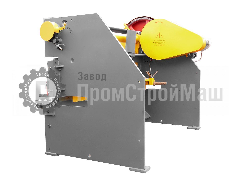 Ножницы гильотинные электромеханические модели Н3118. Вид сбоку