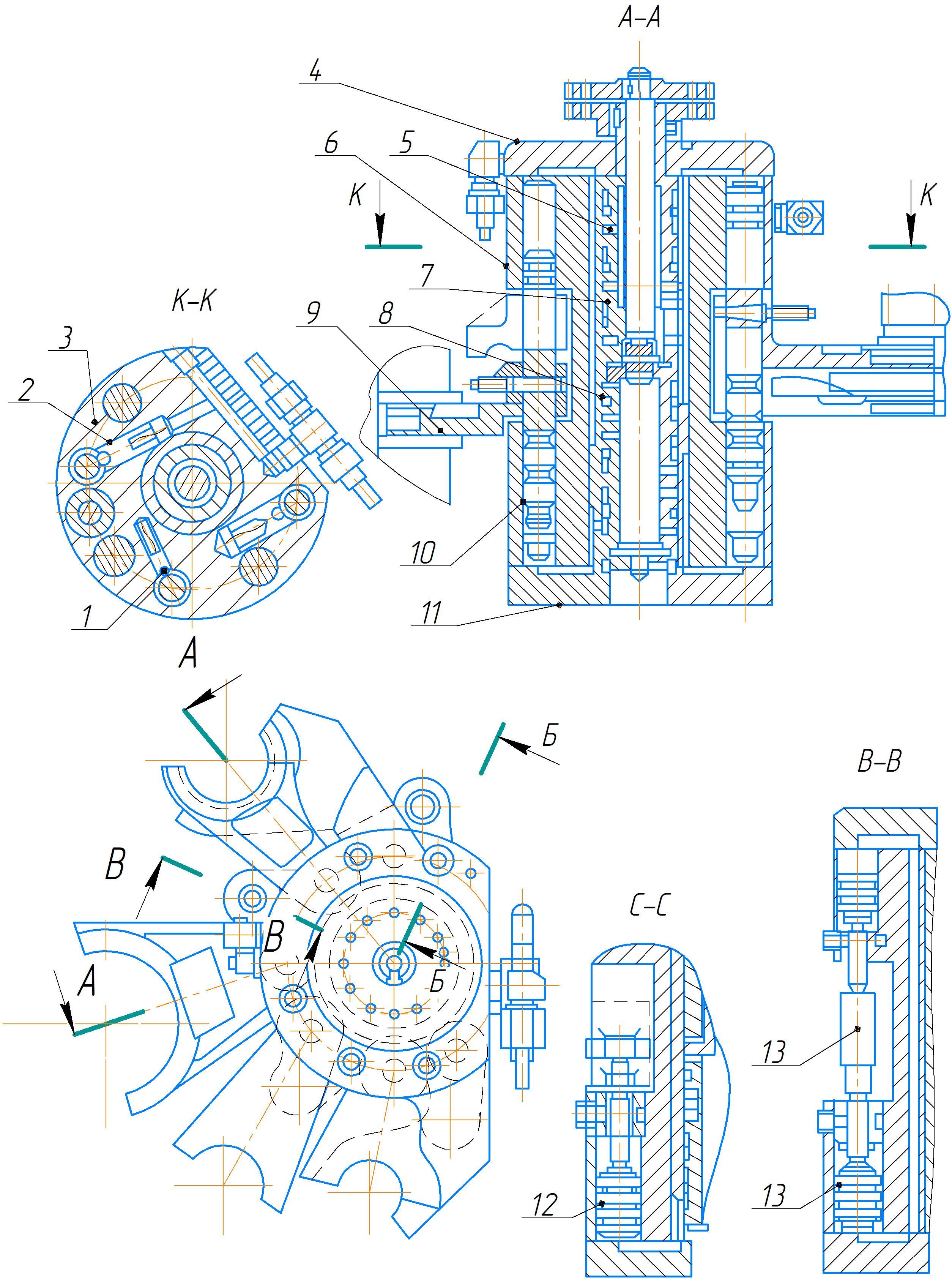 Гидропреселектор электрогидравлического механизма преселективного управления коробкой скоростей и подач станка 2А554