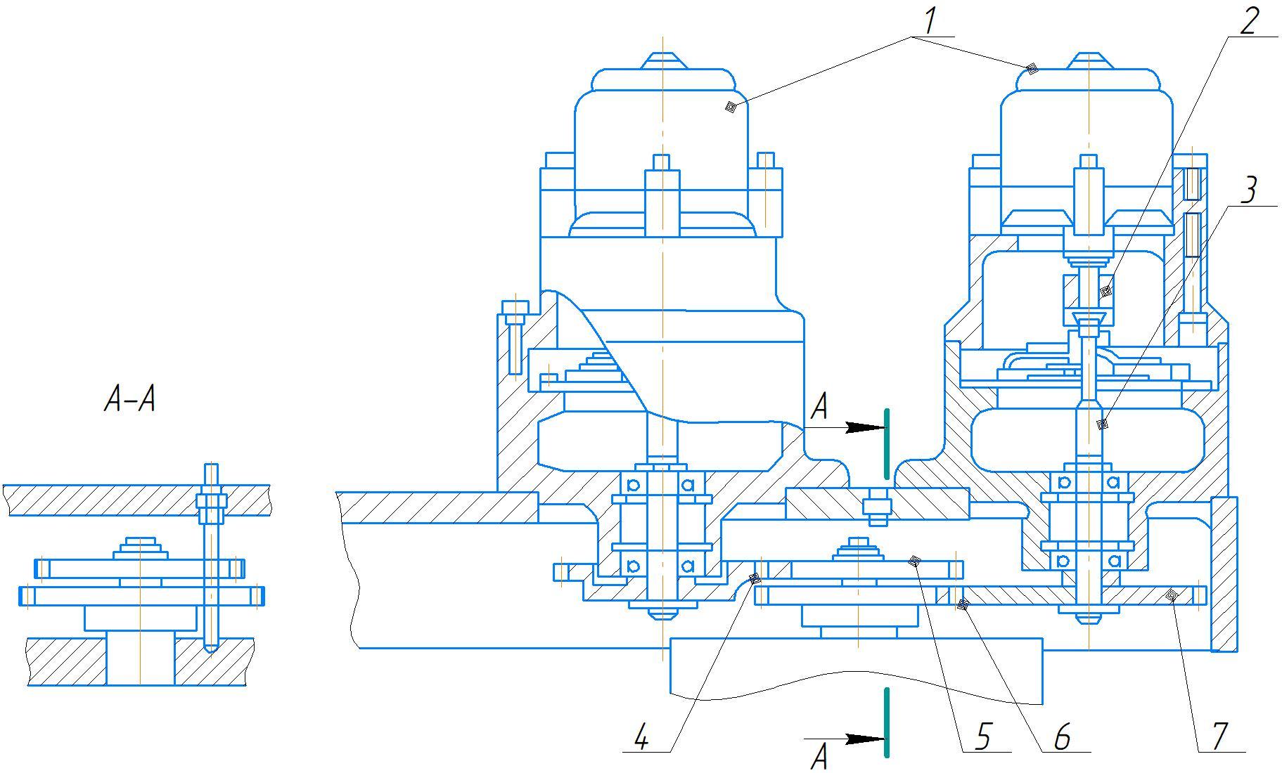 Привод электрогидравлического механизма преселективного управления коробкой скоростей и подач станка 2А554