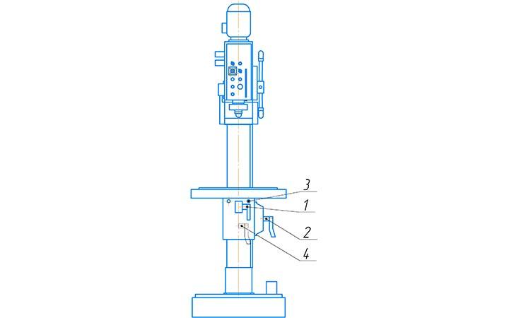 Стол 2С125МП