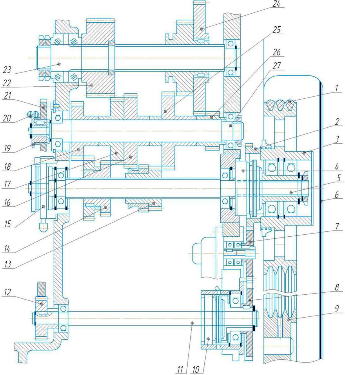 поперечно-строгального станка 7305ГТ