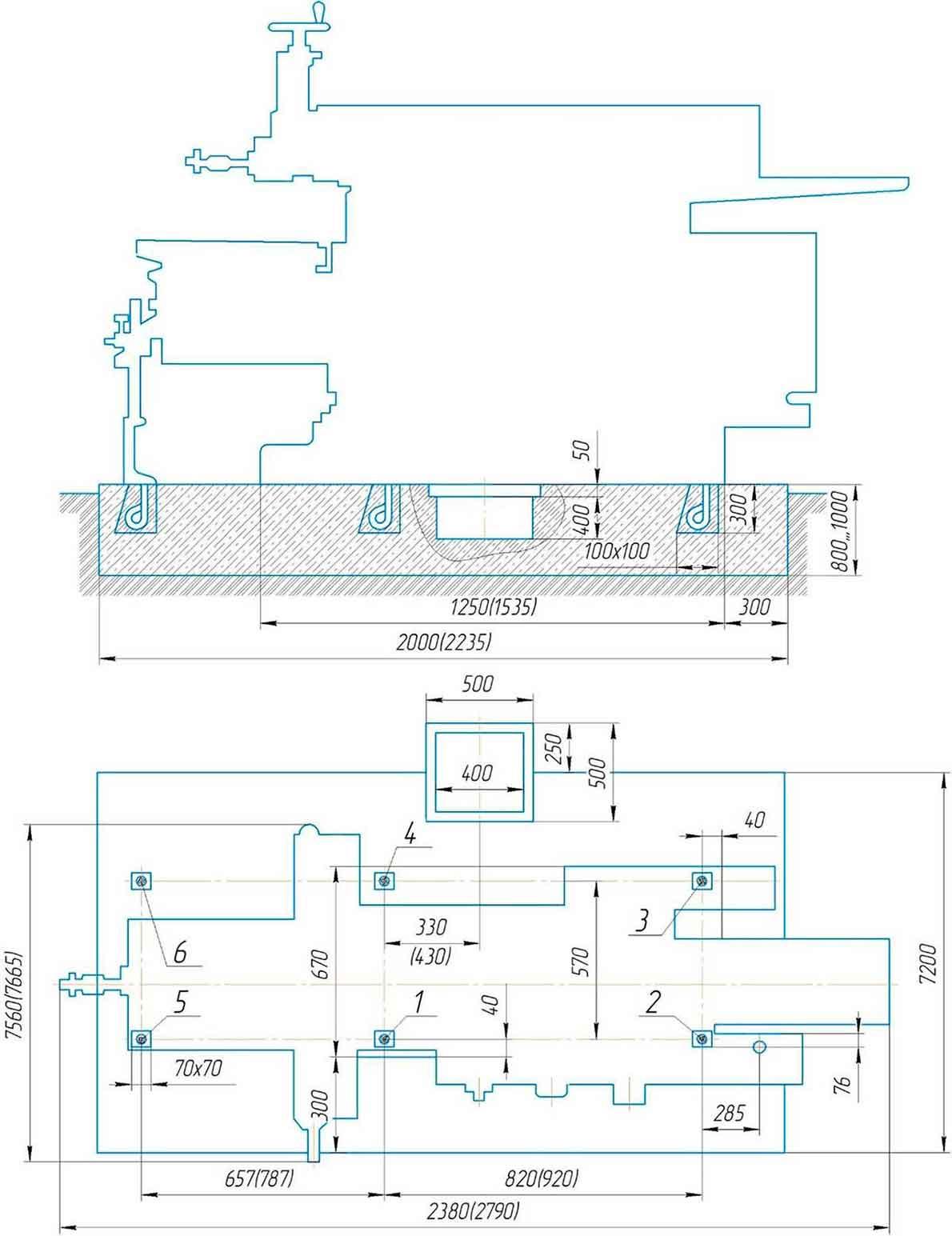 Монтаж поперечно-строгального станка 7305ТД