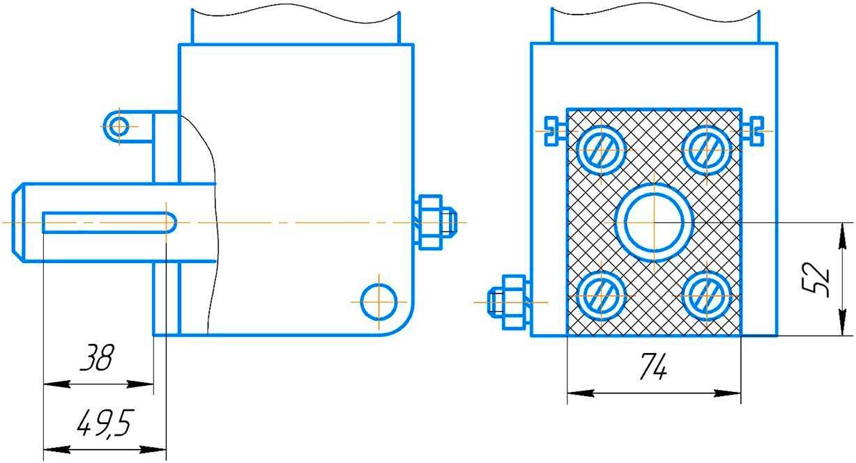 размеры резцедержателя долбежного станка 7А420