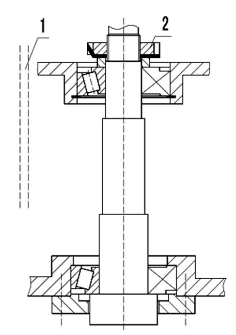 Регулировка подшипников шпинделя станка ФУ-1600/500