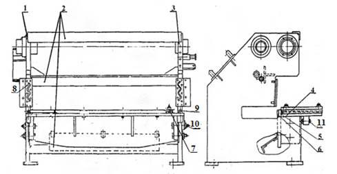 Станина  ножниц  кривошипных Н3118