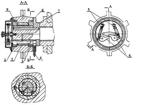 Муфта включения  ножниц  кривошипных Н3118