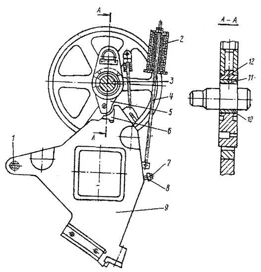 Ползун сортовой секции пресс-ножниц   НВ5222
