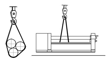 Транспортирование вальцев ИБ2212Г