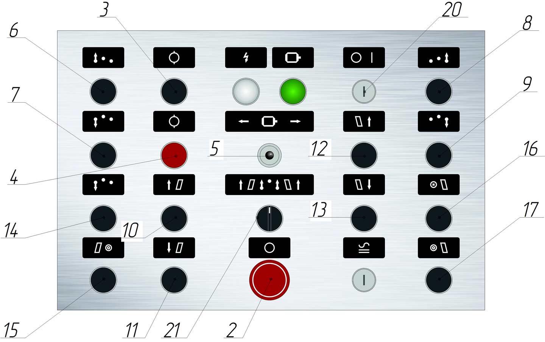Пульт управления ИБ3230
