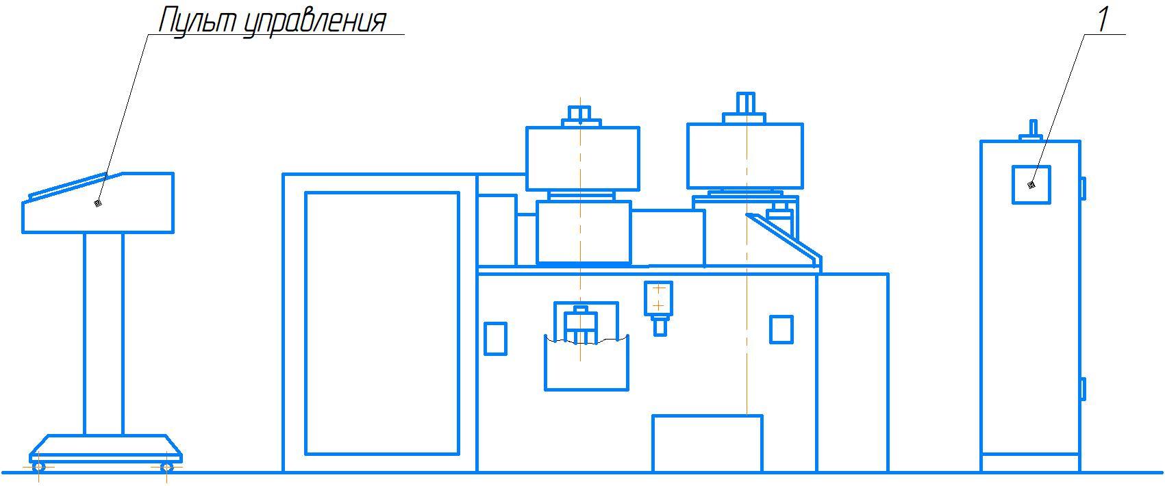 Расположение органов управления ИБ3230