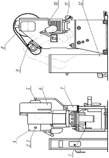 Комплект поставки пресса однокривошипного механического КД2114Г,  КД2114