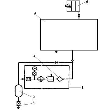 Схема пневматическая принципиальная КД2114, КД2114Г