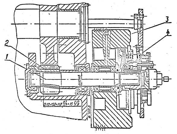 Вал приемный пресса  механического КЕ2130