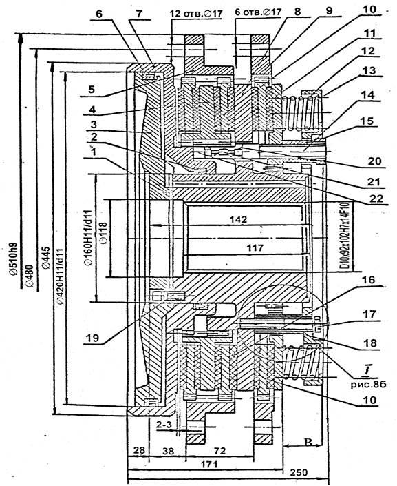 Муфта-тормоз КЕ2130