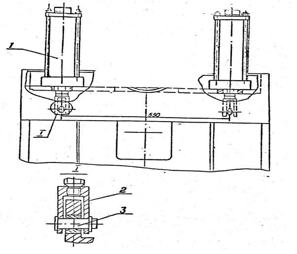 Уравновешиватели ползуна пресса однокривошипного механического КЕ2130