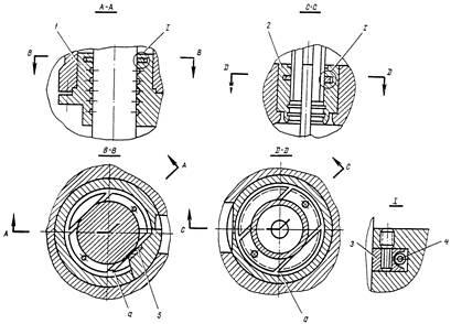 Уплотнения штока бабы и поршня компрессора молота МА4129А