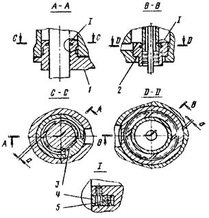 Уплотнение штока бабы и поршня компрессора молота МА4132
