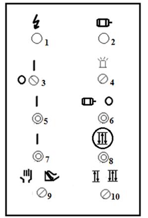 Пульт управления ножницы листовых МНГ-3Х1300