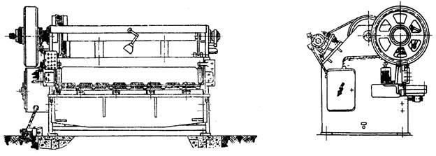 ножницы гильотинные кривошипные НА3218