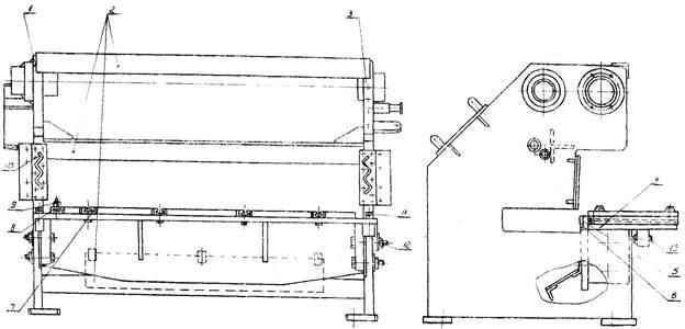 Станина ножниц  НА3218