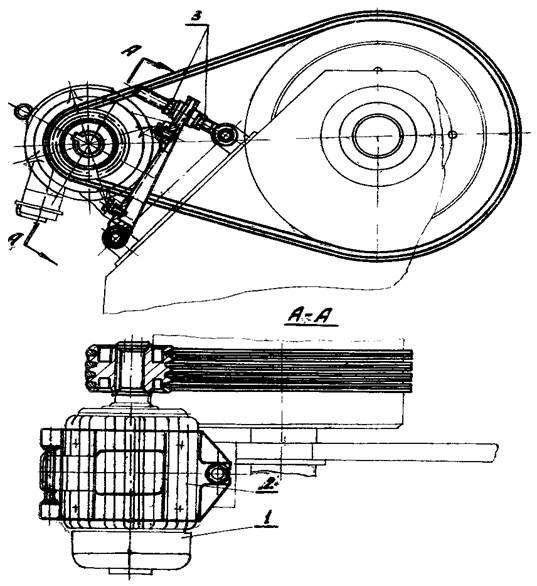Привод   ножниц НА3218
