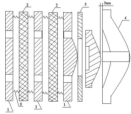 Муфта-тормоз пневмофрикционная НА3122