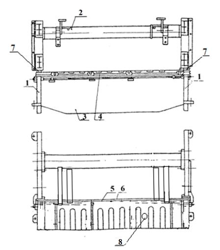 Станина  кривошипных  ножниц   НА3218