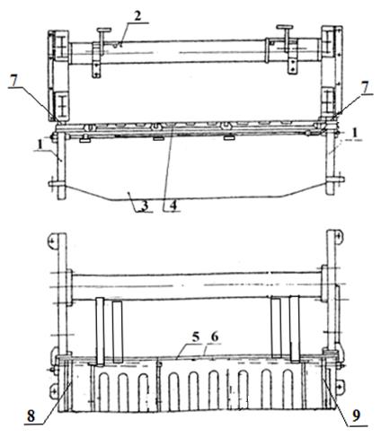 Станина гильотинных ножниц НА3221