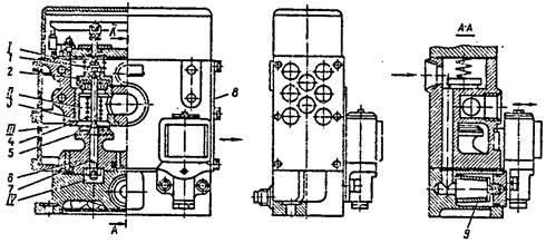 Трехходовой сдвоенный сблокированный клапан  ножниц  НД3316