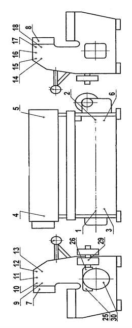 Схема смазки ножниц  НД3316