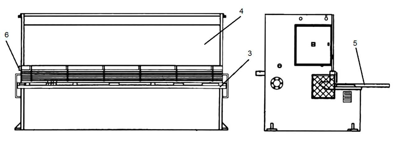Станина гидравлических гильотинных ножниц НГ3320.25