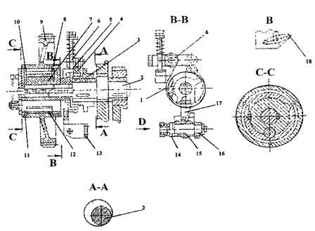 Привод сортополосовой секции пресс-ножниц  НВ5224