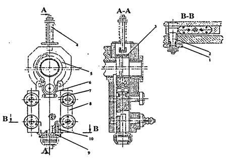 Ползун  дыропробивной секции пресс-ножниц  НВ5224