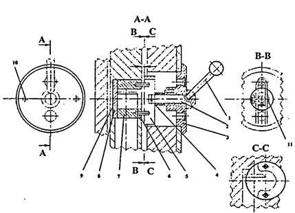 Механизм центрирования пресс-ножниц  НВ5224