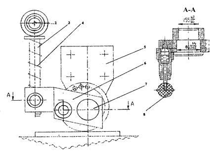 Прижим полосовой секции пресс-ножниц  НВ5224