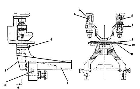 Дыропробивное приспособление пресс-ножниц  НВ5224