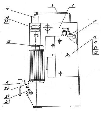 Пресс гидравлический одностоечный   П6320Б