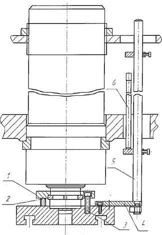 Ползун гидравлического пресса П6326Б