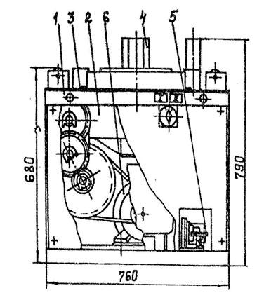 Общий вид станка СГА-1