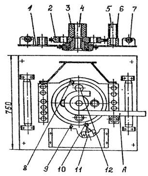 Плита и приспособление для гибки станка СГА-1