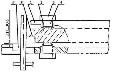Схема установки ножей и регулировки зазора. станка СМЖ-322