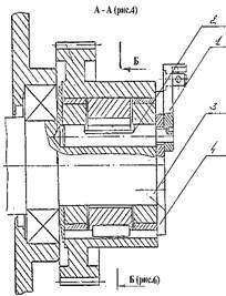 Элементы управления муфтой включения станка СМЖ-322