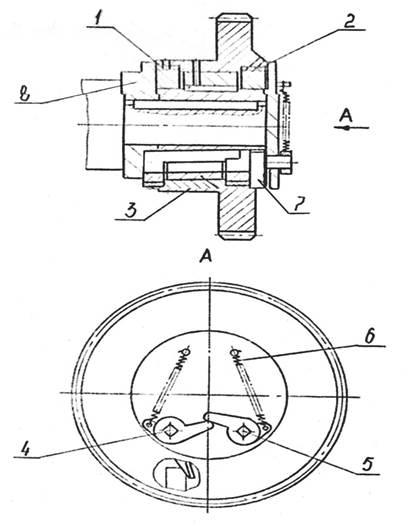 Муфта включения ножниц гильотинных СТД9АМ